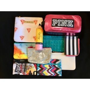 Mixed Bundle x10 Makeup Cosmetic Bags Pouches NEW